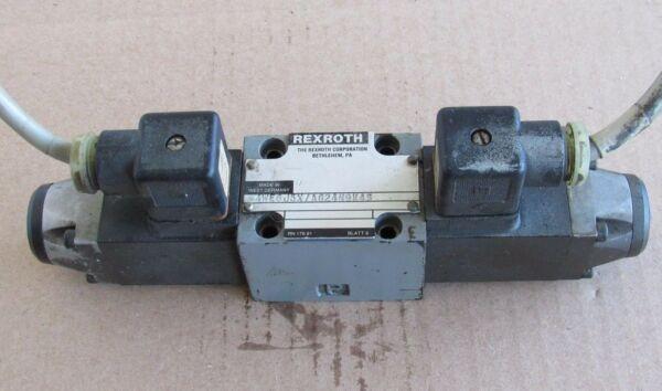 REXROTH  VALVE 4WE6J5X/AG24N9K45, RN 176.91