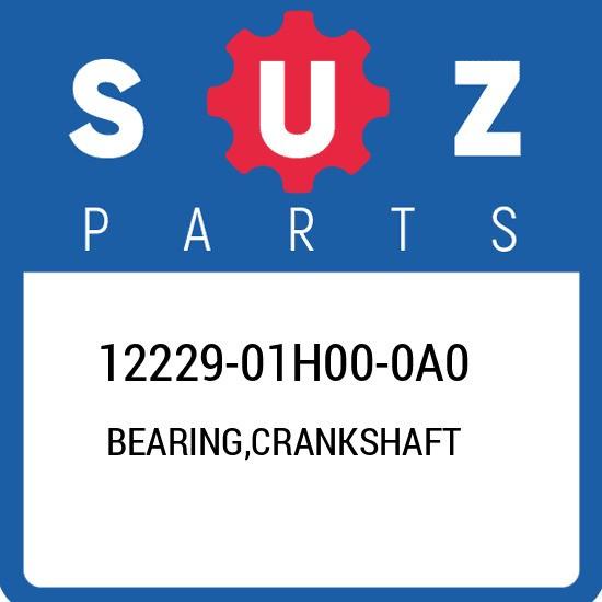 12229-01H00-0A0 Suzuki Bearing,crankshaft 1222901H000A0, New Genuine OEM Part