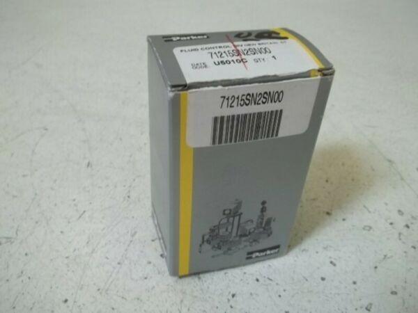 PARKER 71215SN2SN00 SOLENOID VALVE * NEW IN BOX *