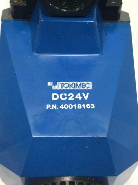 Vickers Tokimec Directional Control Valve DG4V52AMP7LH630T51 Used #96942
