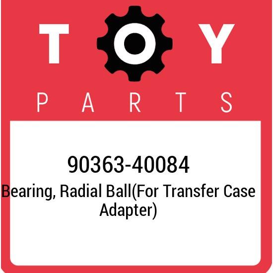90363-40084 Toyota Bearing, radial ball(for transfer case adapter) 9036340084, N