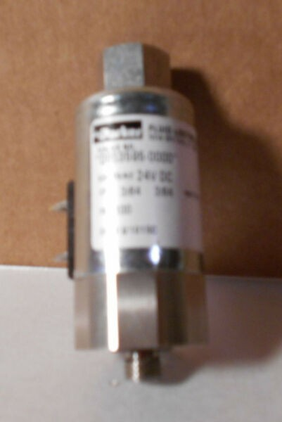 Parker Fluid Control Div. Valve No. 0653595-0000 24 V DC