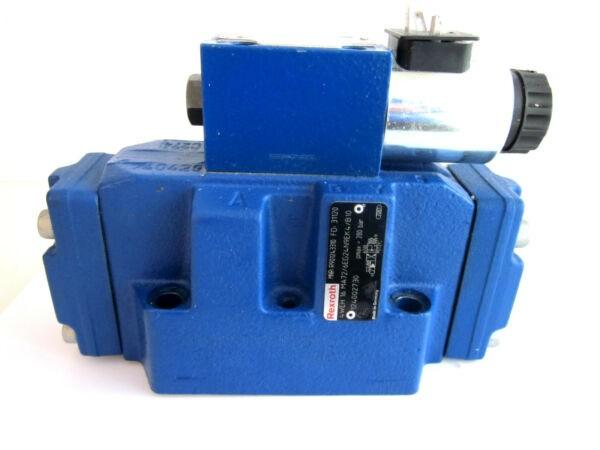 Rexroth Control Block 4weh 16 ma72/6eg24n9ek4/b10 with directional control valve 4we 6 ja62/eg24n9
