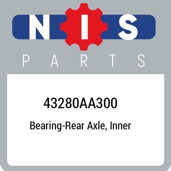 43280AA300 Nissan Bearing-rear axle, inner 43280AA300, New Genuine OEM Part