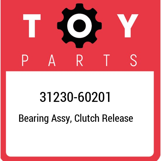 31230-60201 Toyota Bearing assy, clutch release 3123060201, New Genuine OEM Part