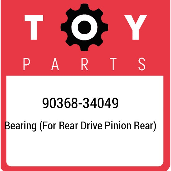 90368-34049 Toyota Bearing (for rear drive pinion rear) 9036834049, New Genuine