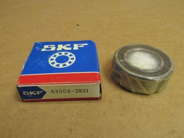 NIB SKF 630062RS1 BEARING RUBBER SEALED 63006 2RS1 630062RS 30x55x19 mm