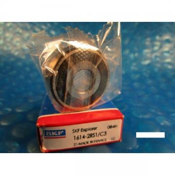 SKF 1614 2RS1 C3, Single Row Radial Bearing (=2 Nice DCTN)