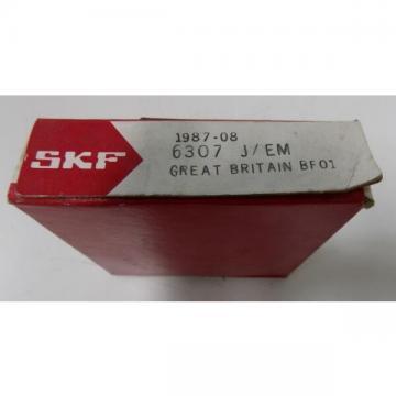 SKF SINGLE ROW BALL BEARING 6307 J/EM NIB