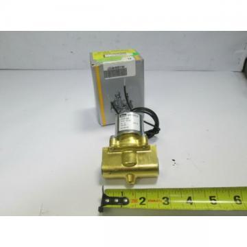 """Parker LC2LB4150N 2 Way Fluid Control Solenoid Valve 12VDC 5-150 PSI 1/2"""" Orif"""