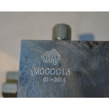 HMA High Pressure M00D013 Hydraulic valve manifold Accumulator & Parker 16SLC1