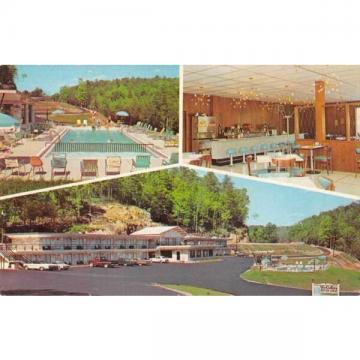 Parkers Lake Kentucky Holiday Motor Lodge Restaurant Vintage Postcard J59206